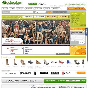 Strona eobuwie.pl